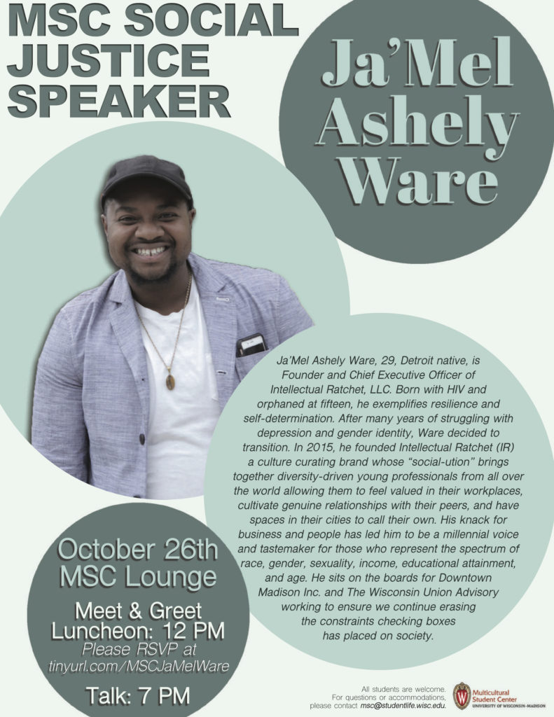 Meet And Greet Luncheon With Jamel Ware Multicultural Student