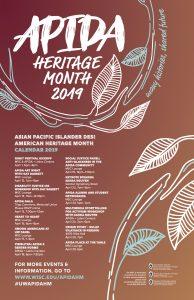 APIDA Heritage Month 2019