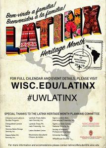 Latinx Heritage Month 2019