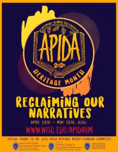 APIDA Heritage Month 2020