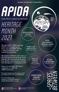 APIDA Heritage Month poster