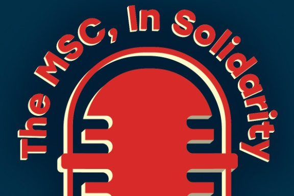 The MSC In Solidarity podcast logo